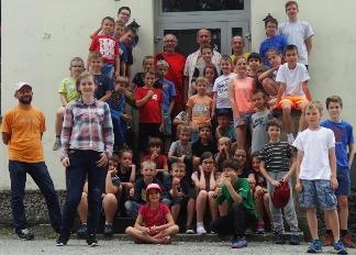 Ośrodek Radosno, obóz szachowy MDK Śródmieście Wrocław, 8-19.07.2017,